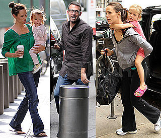 Pictures of Ben Affleck, Jennifer Garner, Seraphina Affleck, and Violet Affleck in NYC