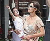 Slide Picture of Suri Cruise and Katie Holmes in Toronto