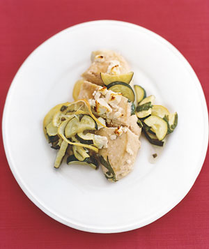 Easy, Healthy Recipe For Feta Chicken With Zucchini