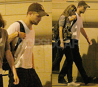 Pictures of Robert Pattinson With a Friend in Toronto