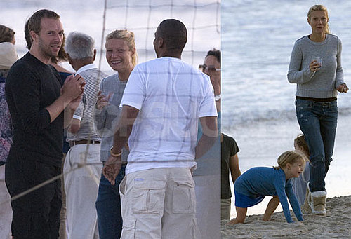 Pictures of Gwyneth Paltrow at the Beach With Chris Martin, Jay-Z, and Apple Martin