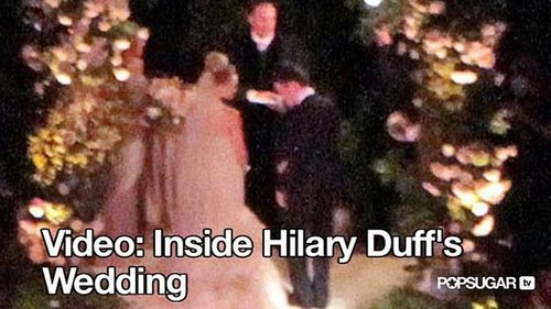 Video of Hilary Duff Getting Married 2010-08-16 10:04:18
