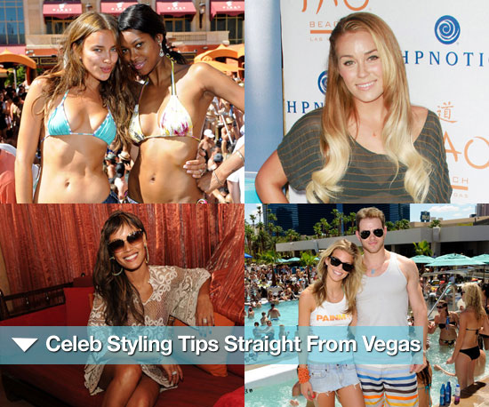 Celeb Styling Tips Straight From the Vegas Poolside