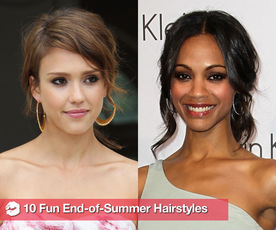 10 Fun End-of-Summer Hairstyles