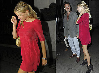 Pictures of Jude Law and Sienna Miller Out to Dinner in London