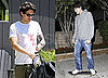 Pictures of John Mayer Leaving a Workout and Skateboarding in LA