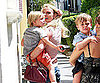 Slide Picture of Britney Spears With Sean Preston and Jayden James in LA