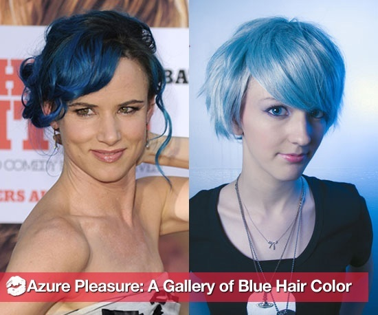 Azure Pleasure: A Gallery of Blue Hair Color