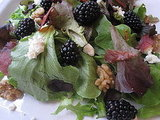 Mixed Greens With Blackberries and Feta Recipe 2010-08-18 17:53:53