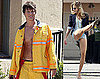 Matt Lanter Shows Off His Firefighter Abs and AnnaLynne McCord Gets Her Kicks in Short Shorts on the 90210 Set