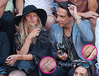 Pictures of Possibly Married Kate Moss and Jamie Hince