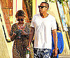 Picture of Jay-Z and Beyonce Knowles on Vacation in Italy
