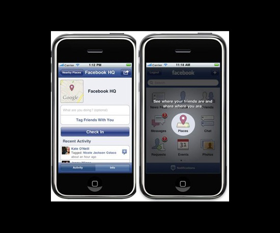Facebook Places Is Here