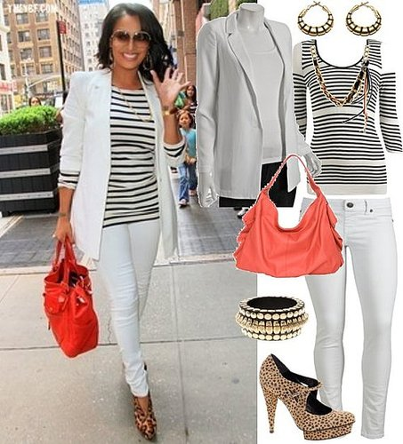 Style Inspiration: Lala's White Hot NYC Look