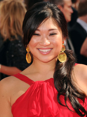 Jenna Ushkowitz at 2010 Emmy Awards