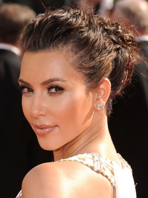 Kim Kardashian at 2010 Emmy Awards