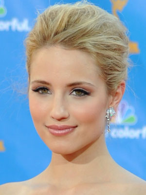 Dianna Agron at 2010 Emmy Awards