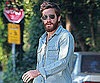 Slide Picture of Jake Gyllenhaal With Long Beard in LA