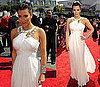 Pictures of Kim Kardashian at the 2010 Primetime Emmy Awards