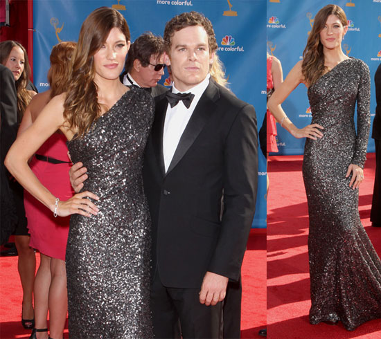 Pictures of Micheal C Hall and Jennifer