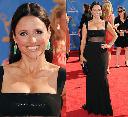 Julia Louis-Dreyfus Wears Narciso Rodriguez to 2010 Primetime Emmy Awards