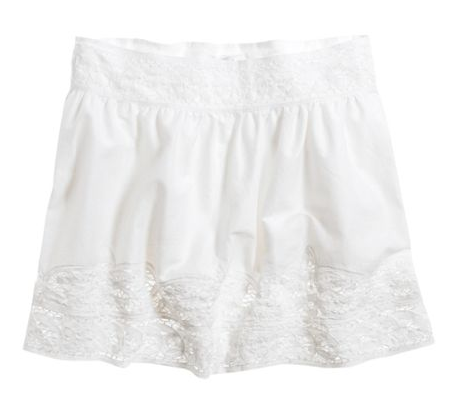 Aerie Lace Trim Skirt ($20, originally $35)