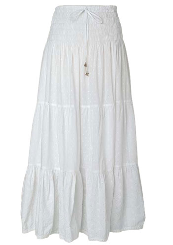 Alloy Long Smocked Skirt ($26, originally $35)