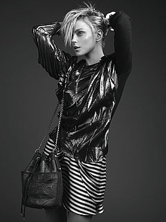 Photos of Jessica Stam for Rachel Rachel Roy Collection