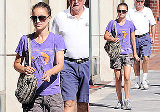 Pictures of Black Swan's Natalie Portman Out in LA Without Boyfriend Benjamin Millepied