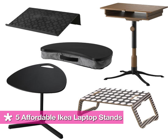 5 Affordable Laptop Stands From Ikea