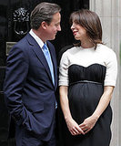 Pictures of Prime Minister David Cameron With Pregnant Samantha Cameron Who Has Given Birth to a Daughter Early