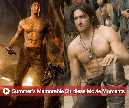 The Summer's Most Memorable Shirtless Movie Men