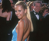 Sarah Michelle Gellar's blue gown showed off her tan in 1999.