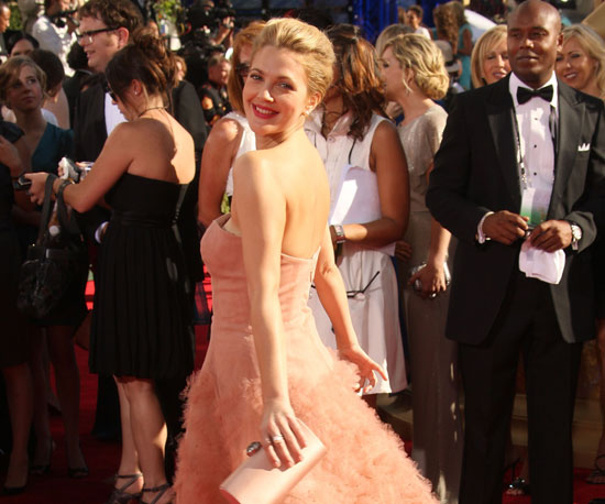 Drew Barrymore glowed on the red carpet in 2009.