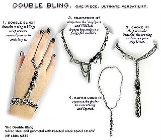 Nan Fusco Double Bling Necklace/Bracelet