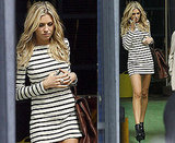 Pictures of Abbey Clancy Without Her Engagement Ring On Leaving ITV Studios