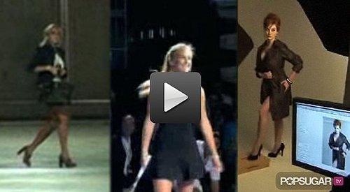 Lindsay Lohan Out of Rehab, Bar Refaeli Playing Tennis, and Christina Hendricks For London Fog