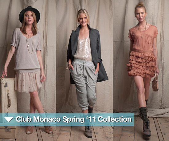 Sneak Peek! Club Monaco's Fun, Femme, Modern Flair For Spring '11