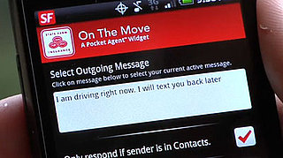 Text Auto-Reply App From State Farm