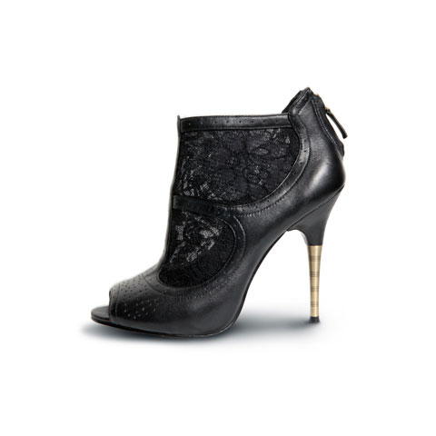 Elizabeth and James Shoes Black Leather