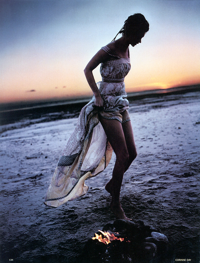 "Kate Moss in ""Freedom Child,"" Vogue UK Feb. 2002"