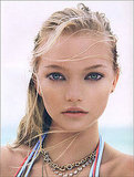 "Gemma Ward in ""Summer Loving,"" Vogue UK July 2006"