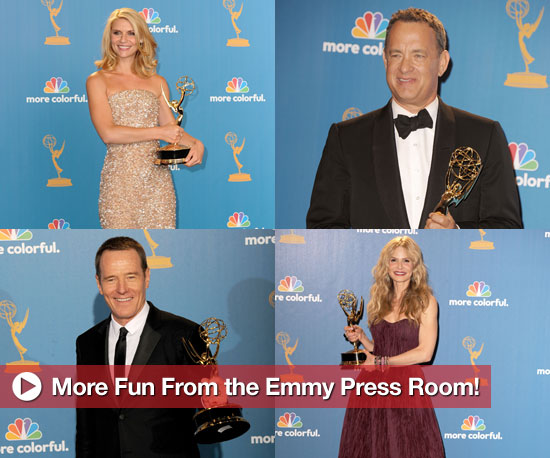 More Fun From the Emmy Press Room!