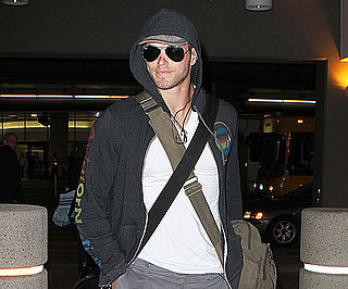 Slide Picture of Kellan Lutz at LAX
