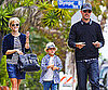 Slide Picture of Reese Witherspoon and Jim Toth With Deacon in LA