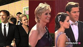 Video of True Blood Stars at the Emmys, Glee Stars Talking About the Britney Spears Episode