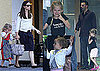 Pictures of Ben Affleck, Jennifer Garner, Seraphina Affleck, and Violet Affleck in LA