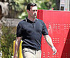 Slide Picture of Jon Hamm on Mad Men Set