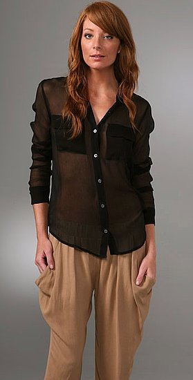 I'm going to get this Equipment Sisley Chiffon Signature Blouse ($188) then get tips from FabTV on how to wear it!