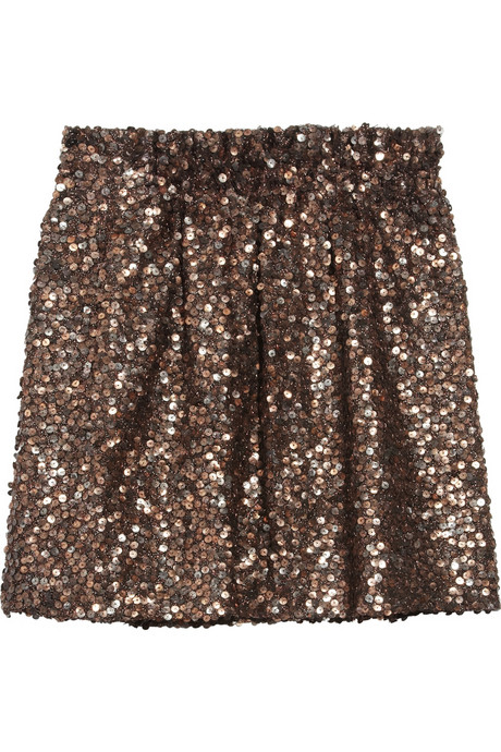 Sparkle is always welcomed in my life. This J.Crew Joey Sequin-Embellished Skirt ($268) is just dazzling.